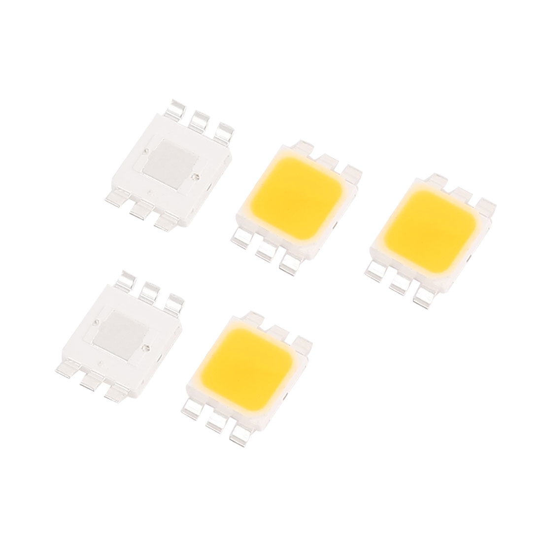 3.0-3.6V 350mA 1W Warm White SMD 5050 LED Bead Diodes Chip Lamp Emitter 5pcs