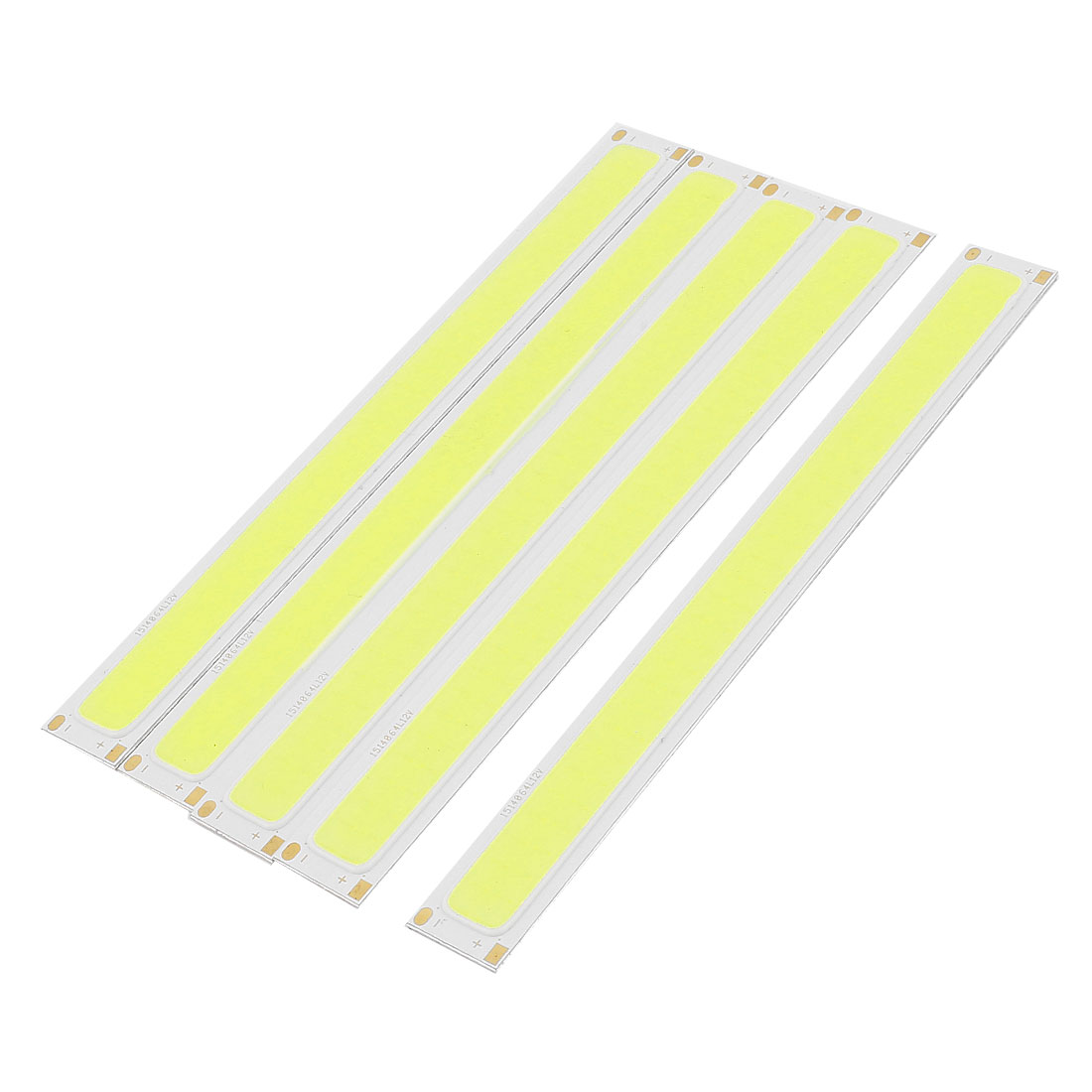 4W DC12-14V 300mA 80-90LM/W White LED Light COB Lamp Bead Chip 5 Pcs