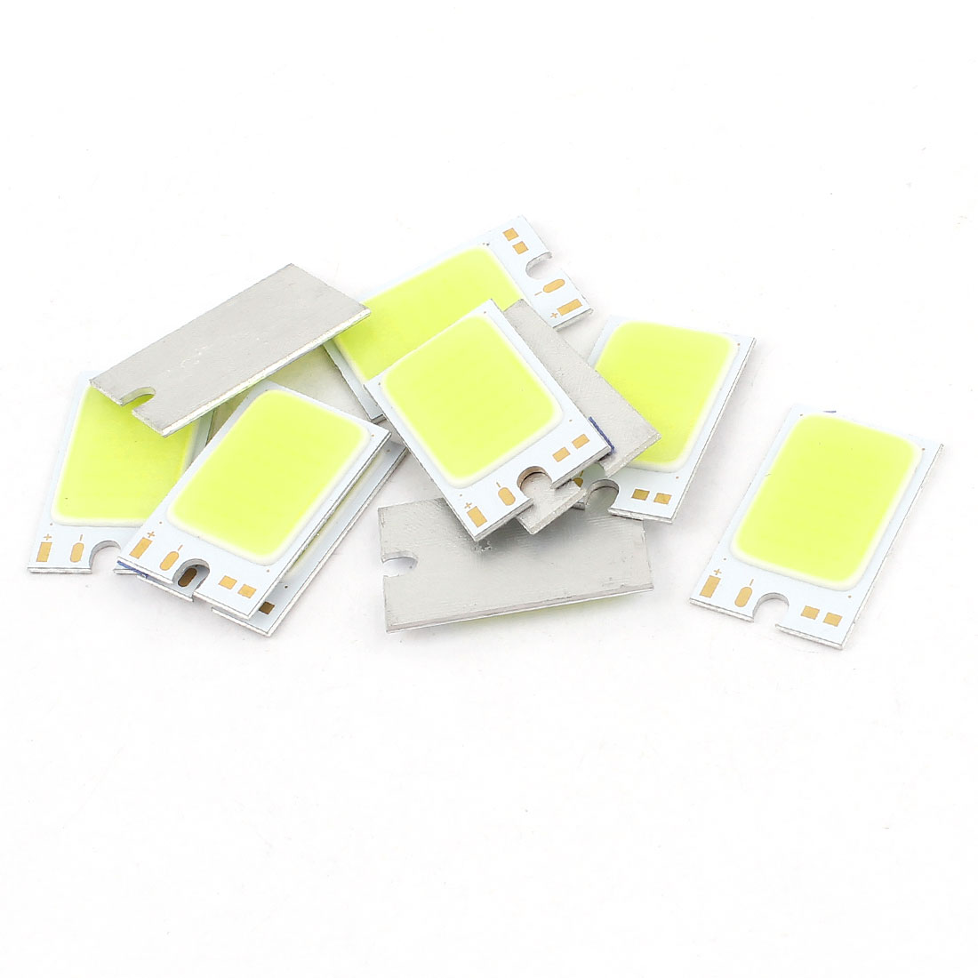 1.5W DC9-11V 150mA 80-90LM/W White LED Light COB Lamp Bead Chip 10pcs