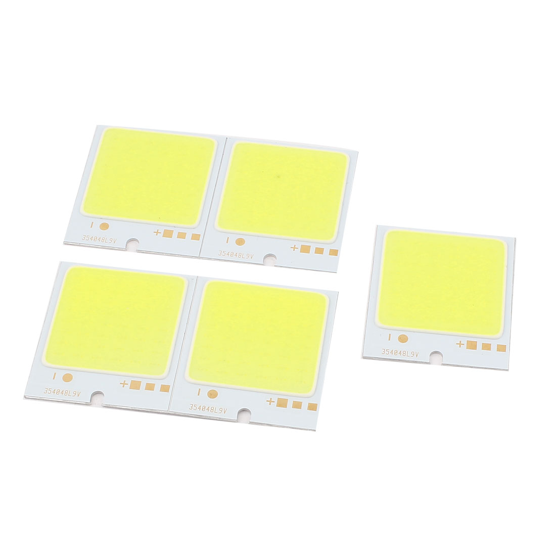 5PCS 4W DC9-11V 400mA 80-90LM/W White LED Light COB Lamp Bead Chip