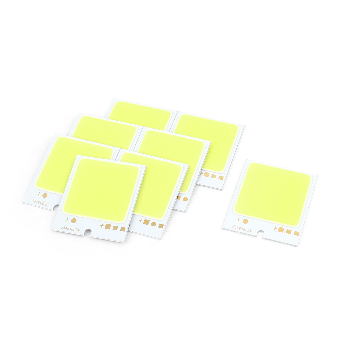 4W DC9-11V 400mA 80-90LM/W White LED Light COB Lamp Bead Chip 10PCS