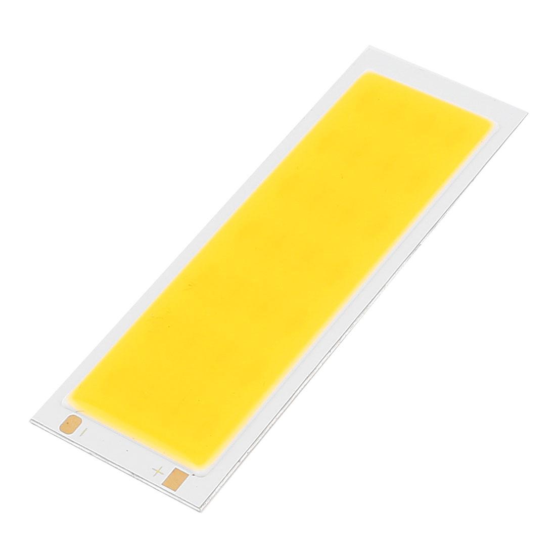 7W DC12-14V 600mA 80-90LM/W Warm White LED Light COB Lamp Beads Chip