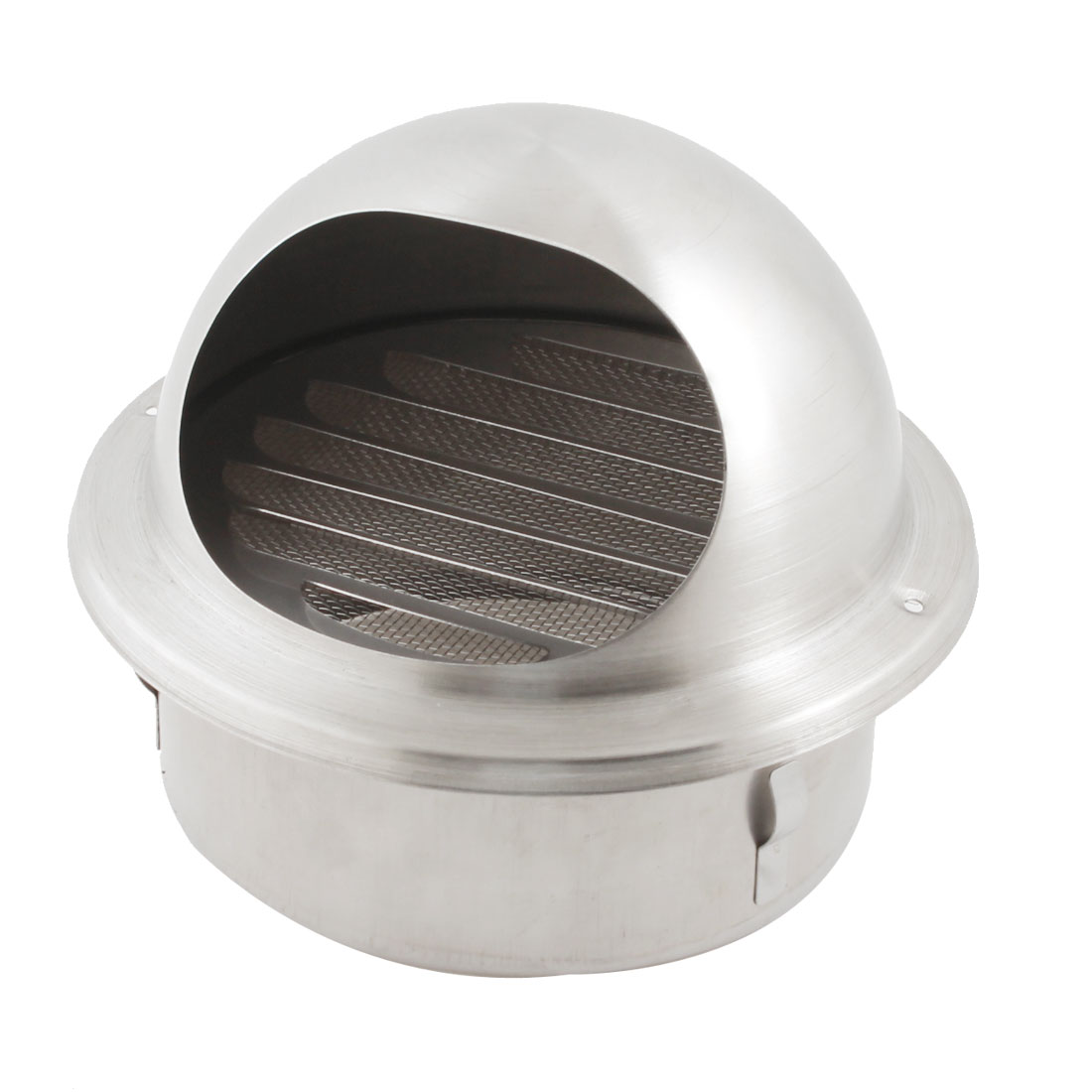 Kitchen Extractor Fan 304 Grade Stainless Steel Air Vent Outlet Grill w Mesh Louver for 125mm Ducting