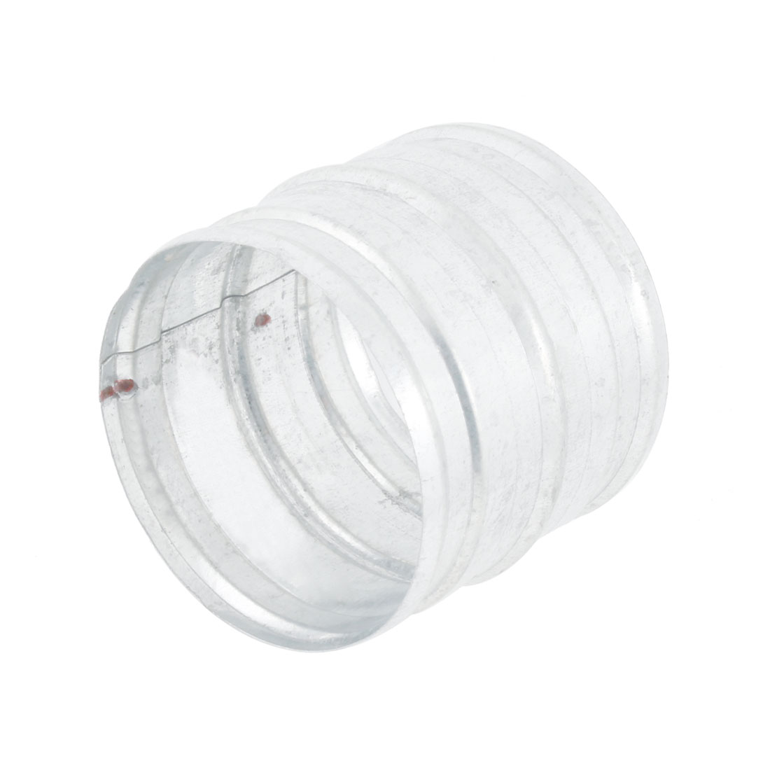 100mm Outer Dia 2 Way Straight Air Vent Outlet Joint Adapter Connector for Ventilation Ducting
