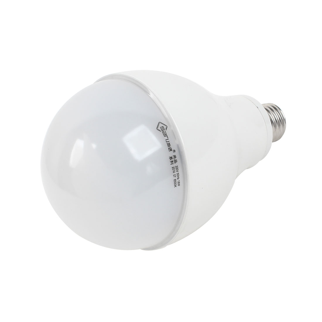 Home E27 Energy Saving LED Globe Ball White Light Lamp Bulb AC 200V-240V 18W