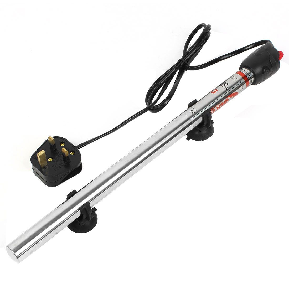 Aquarium AC 220V-240V 400W Submersible Thermal Tube Heater UK Plug