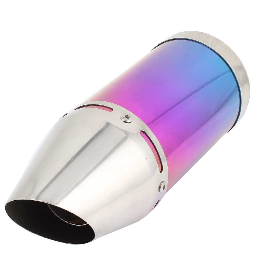 "11"" Length Colorful Shark Mouth Exhaust Pipe Muffler for Motorcycle Motorbike"
