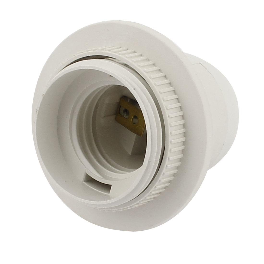 E27 Bulb Base Holders Light Plastic Screw Lamp Socket Adapter AC 110V-220V