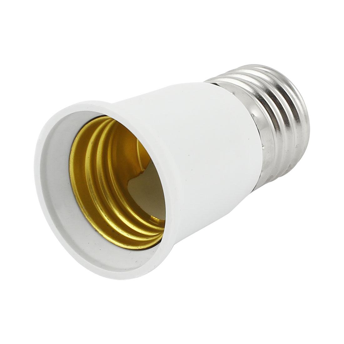 E27 to E27 Bulb Base Light Screw Lamp Socket Adapters Converter AC 110V-220V