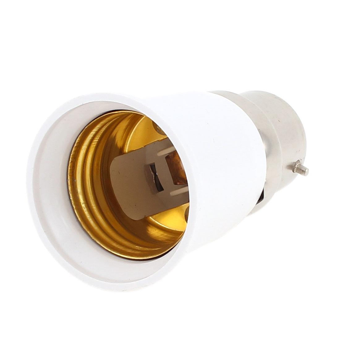 B22 to E27 Female Bulb Base Holders Screw Lamp Socket Converter AC110V-220V
