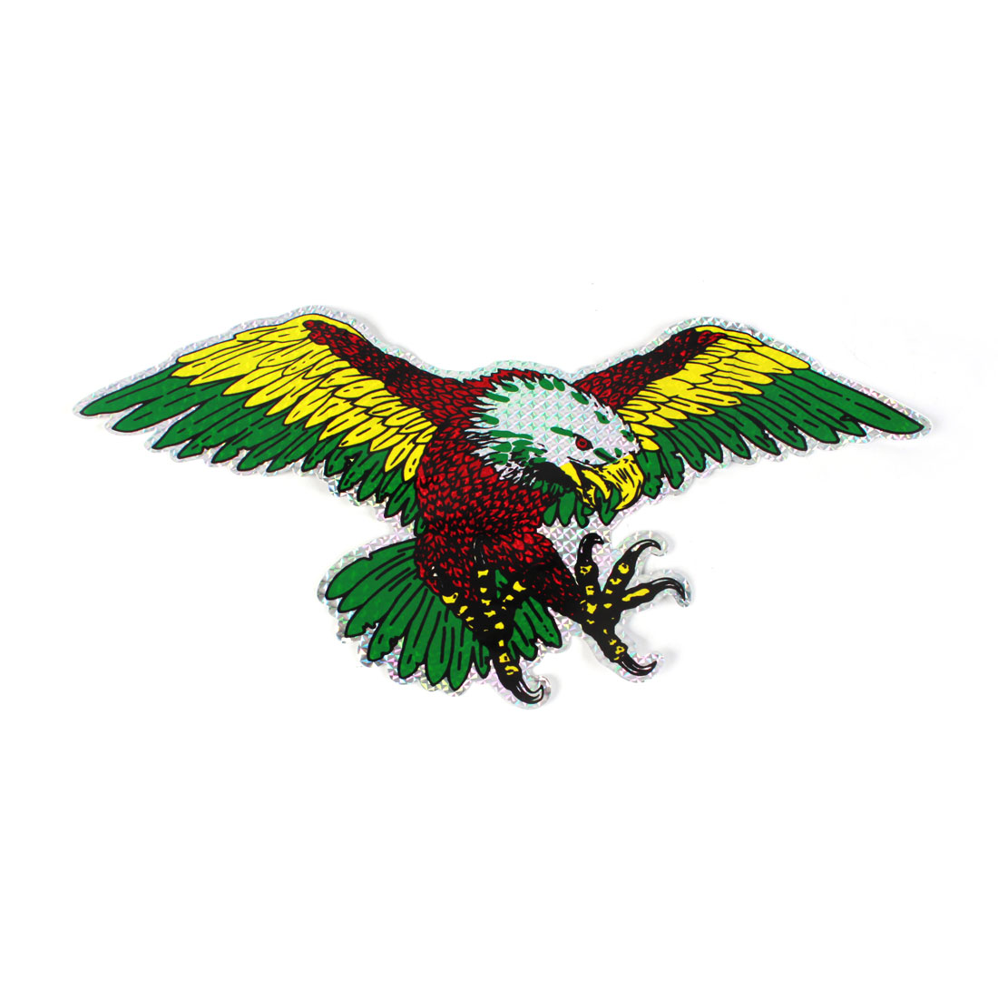 Car Vehicles Decor Adhesive Eagles Stickers Decals Tricolor 2 Pcs