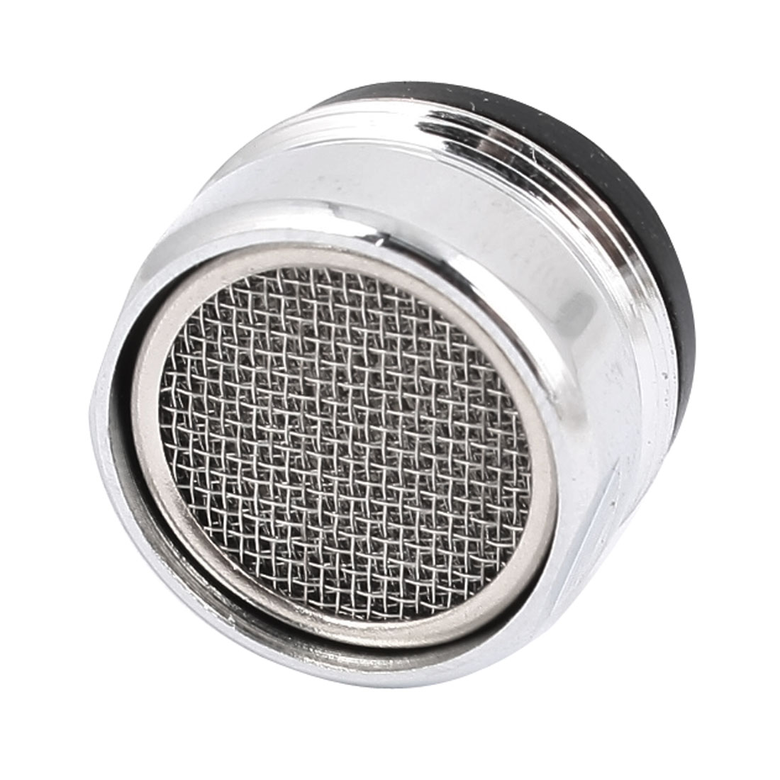 22mm Male Thread Silver Tone Faucet Tap Filtering Net Spout Aerator Nozzle