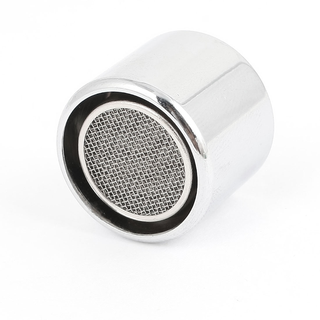 19mm Thread Silver Tone Water Saving Faucet Tap Filtering Net Spout Aerator Nozzle w Seal Gasket