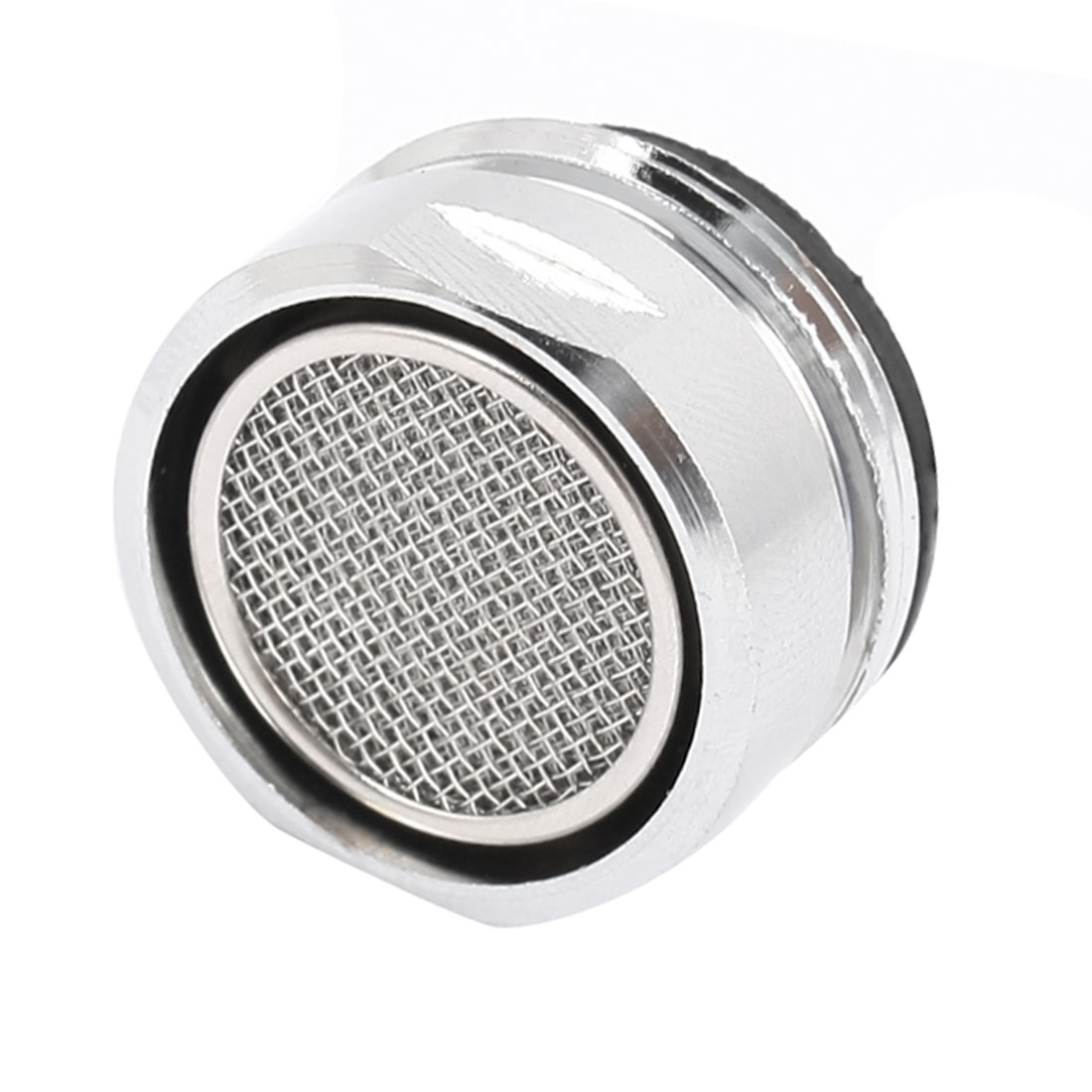 24mm Thread Silver Tone Faucet Tap Filtering Net Spout Aerator Nozzle