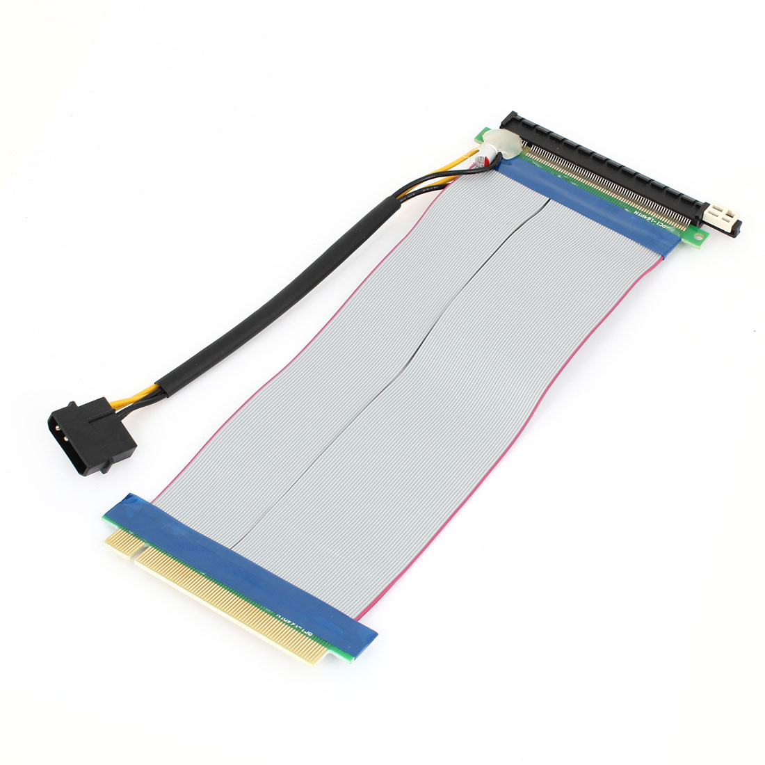 24.5cm 2Pin Power Connector PCI-E Express 16x Extension Cable Riser Card