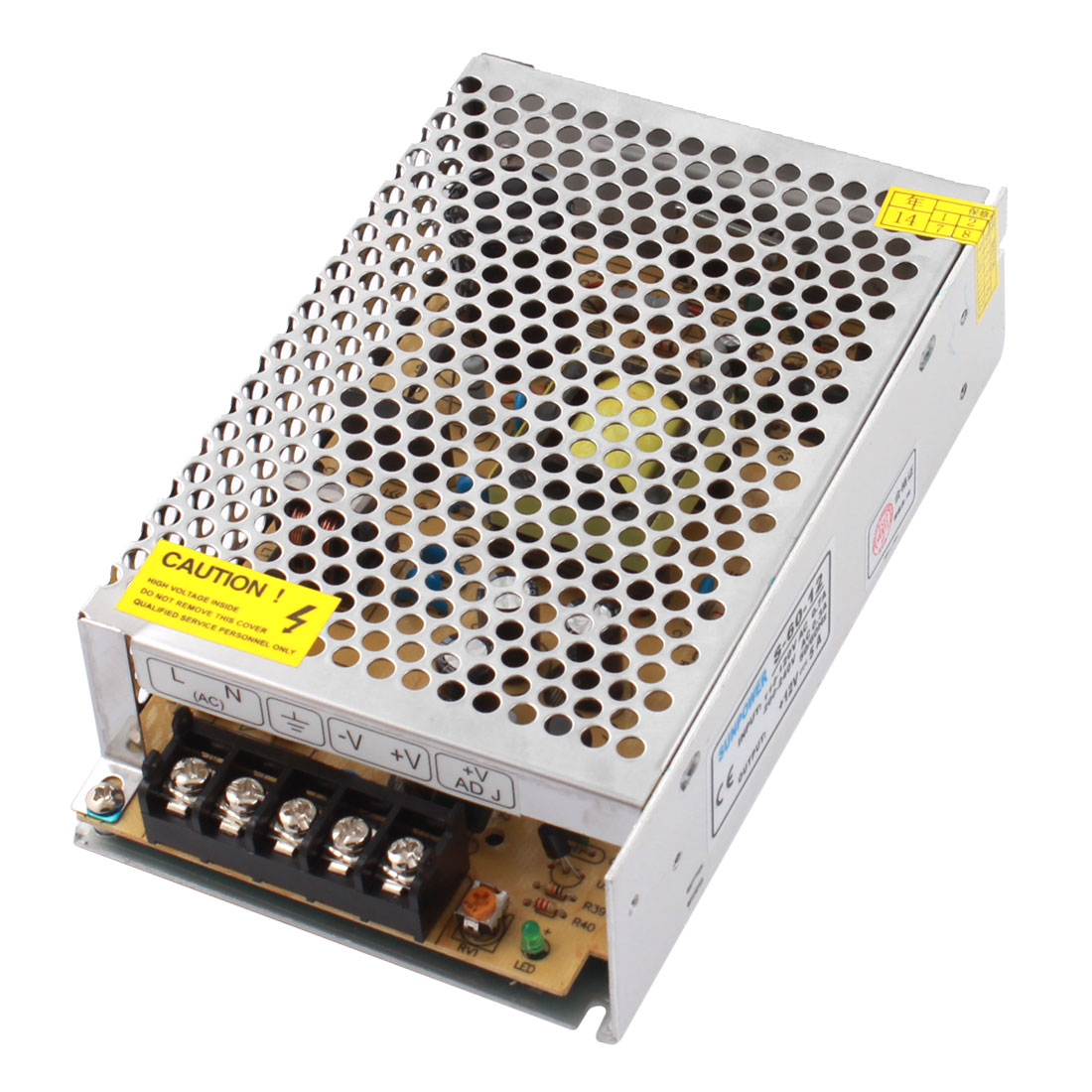 DC 12V 5A 60W Switching Power Supply Driver S-60-12 for LED Strip Light