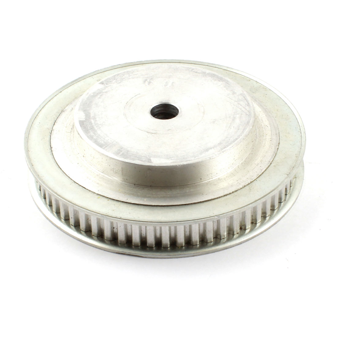 XL60 60 Teeth 11mm Width 10mm Bore 5.08mm Pitch Aluminum Alloy Dual Flanged Groove Motor Timing Belt Pulley