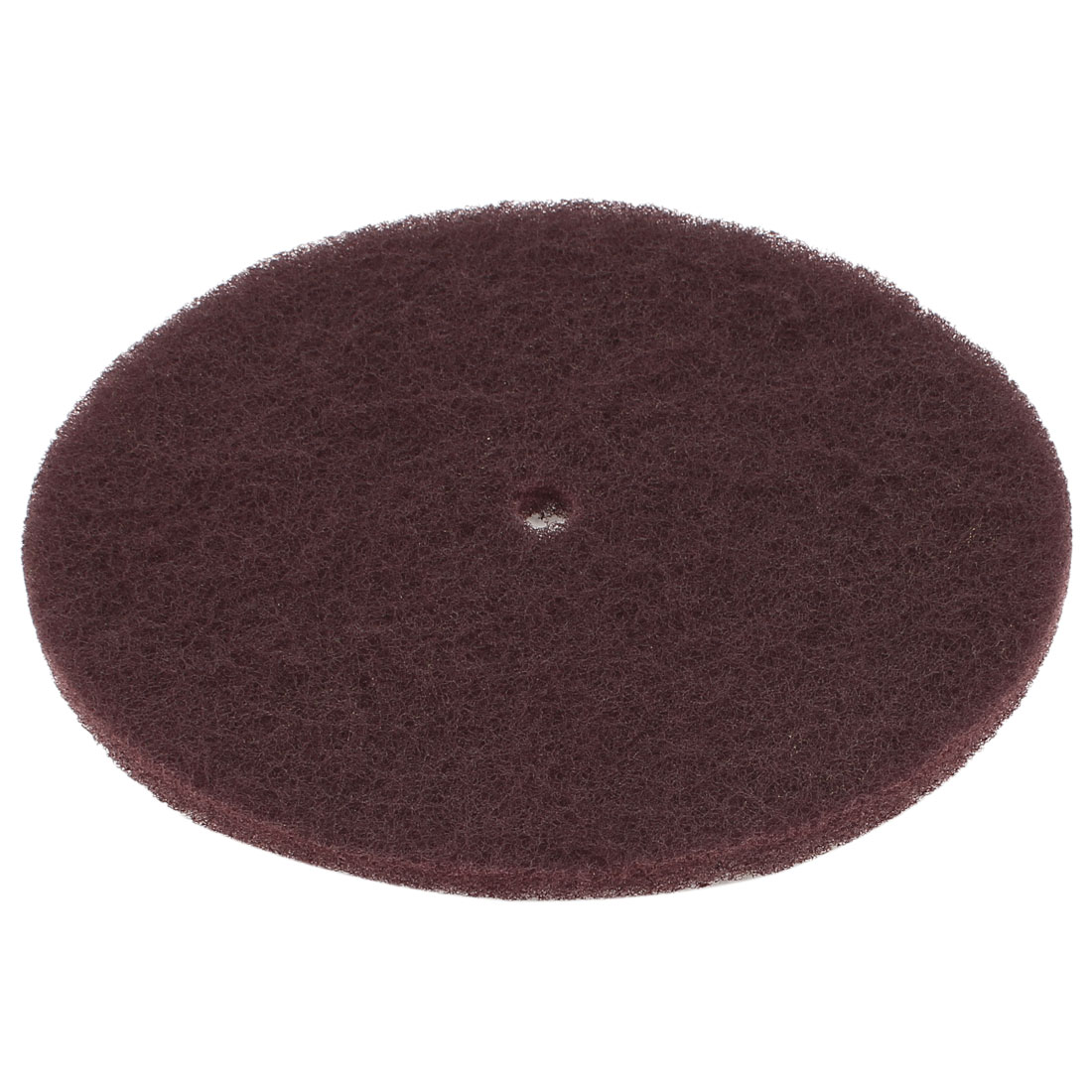 20.5cm Diameter Burgundy Felt Buffing Scrubbing Pad Disc Cleaner