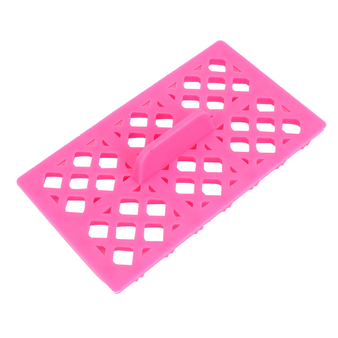 Fondant Cake Cookie Biscuit Cutter Bowtie Design Stamp Impress Mold Tool Fuchsia