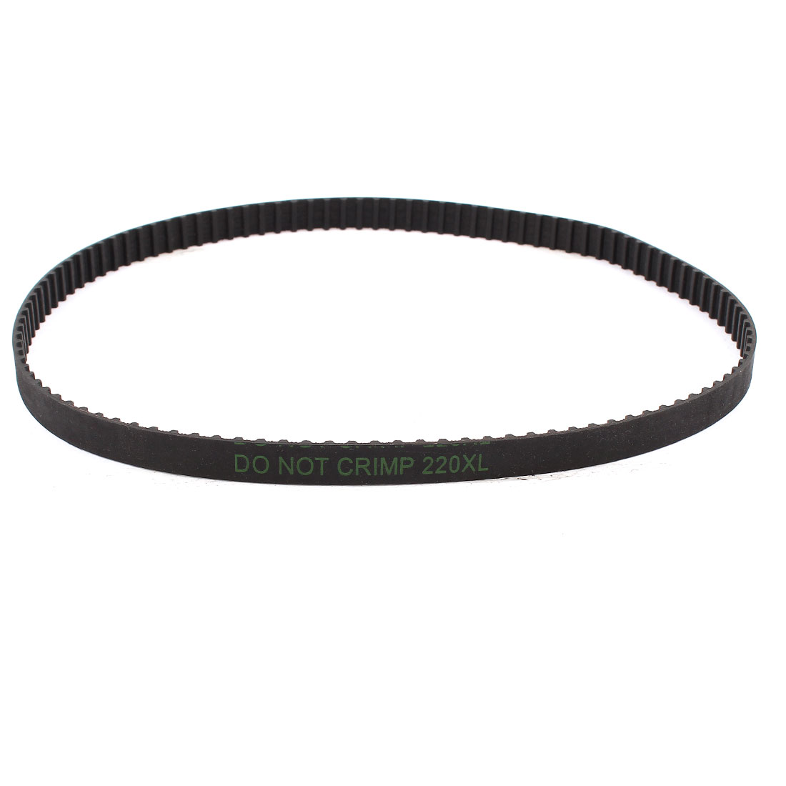 "220XL 22"" Girth 5.08mm Pitch 110-Teeth Black Rubber Industrial Synchro Machine Synchronous Timing Belt"