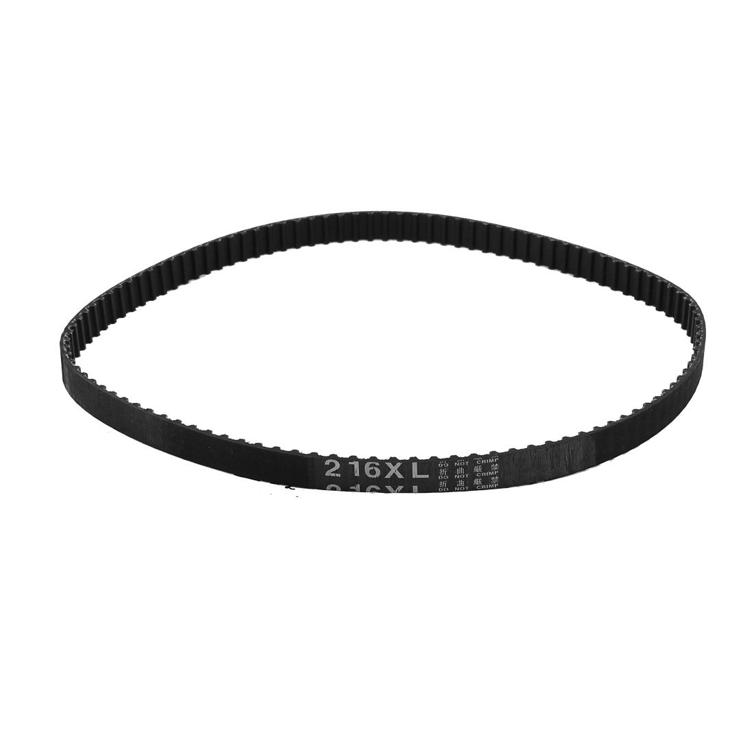"216XL 21.6"" Girth 5.08mm Pitch 108-Teeth Black Rubber Industrial Synchro Machine Synchronous Timing Belt"