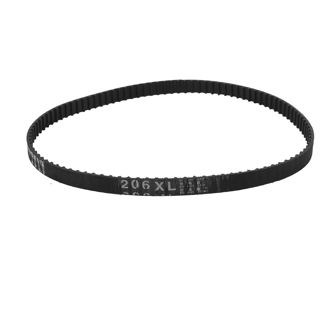 "206XL 20.6"" Girth 5.08mm Pitch 103-Teeth Black Rubber Industrial Synchro Machine Synchronous Timing Belt"