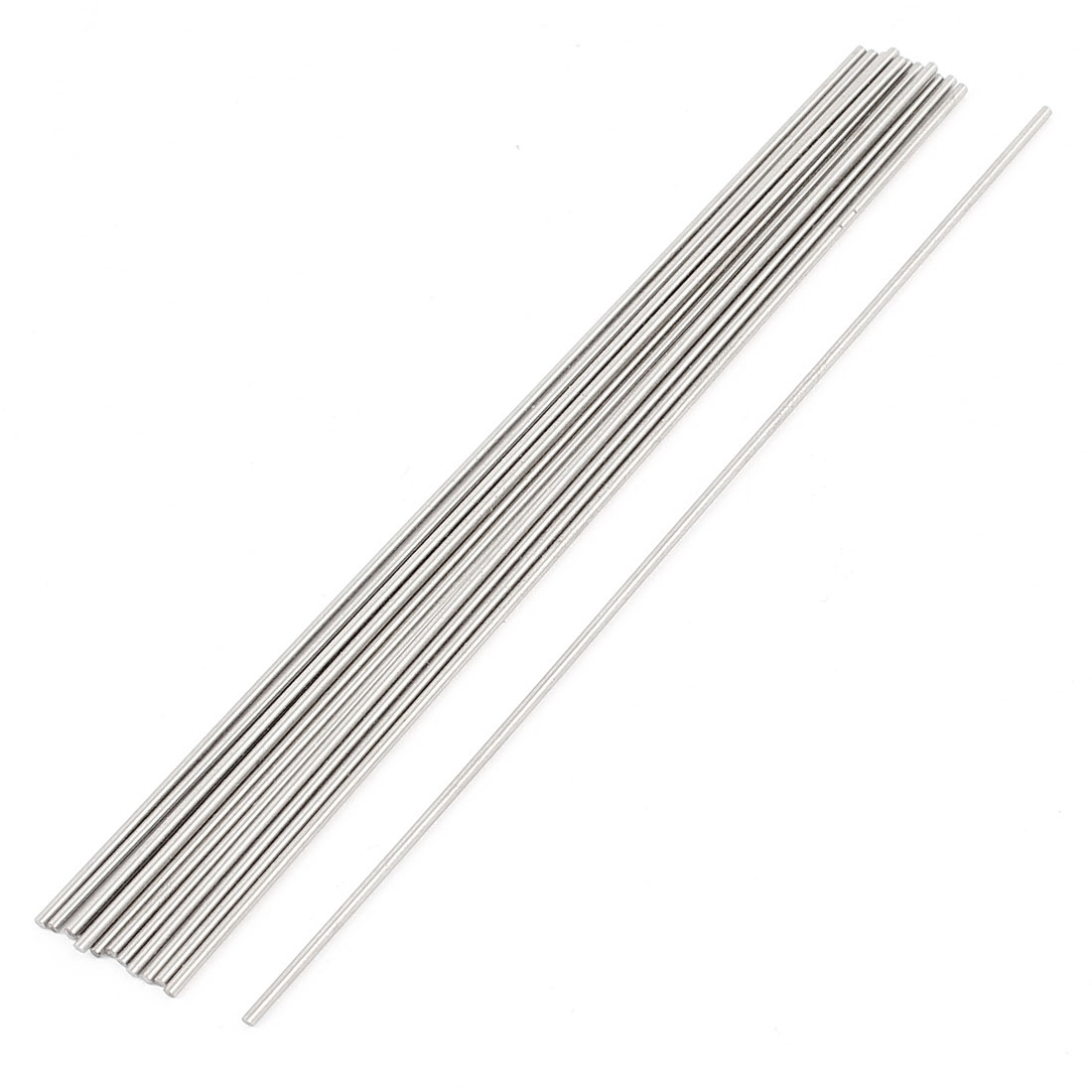 15Pcs Lathe Tools Spare Parts Steel Rod 1mm Diameter 100mm Long Round Stock