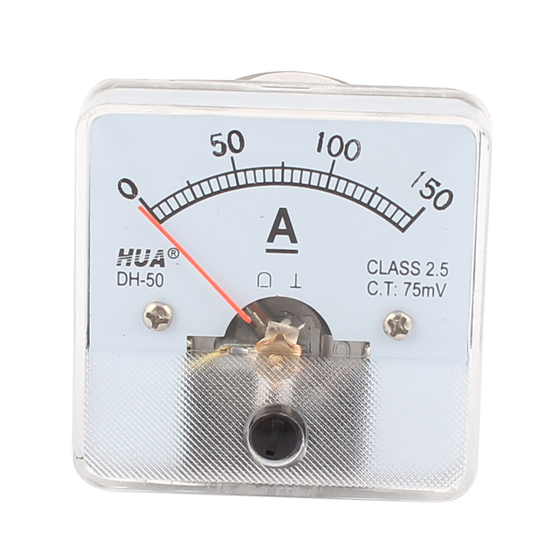 Class 2.5 Accuracy DC0-150A Dial Analog Panel Meter Gauge DH-50