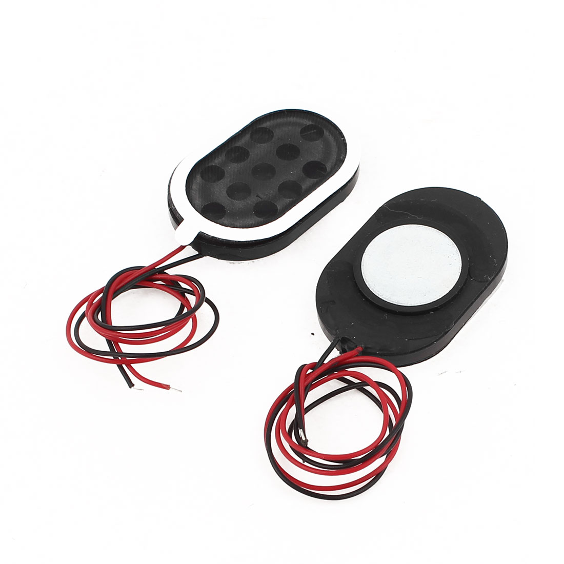 2 Pcs Wired Internal Magnetic Speakers 30x20mm 8Ohm 1W for Yuandao N90 Tablet PC