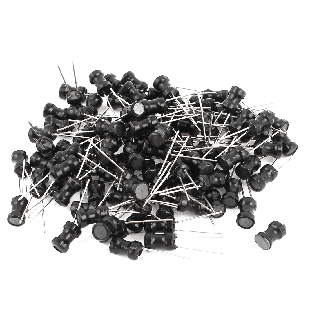 100PCS Electric Component 222K 2.2mH 200mA 4x6mm 10% Radial Inductors