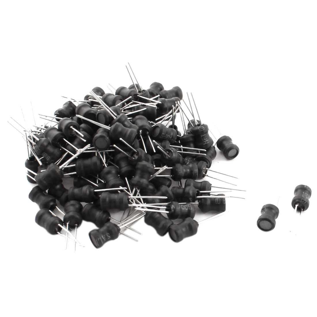 100Pcs Electric Component 302K 3mH 300mA 6x8mm 10% Radial Inductor