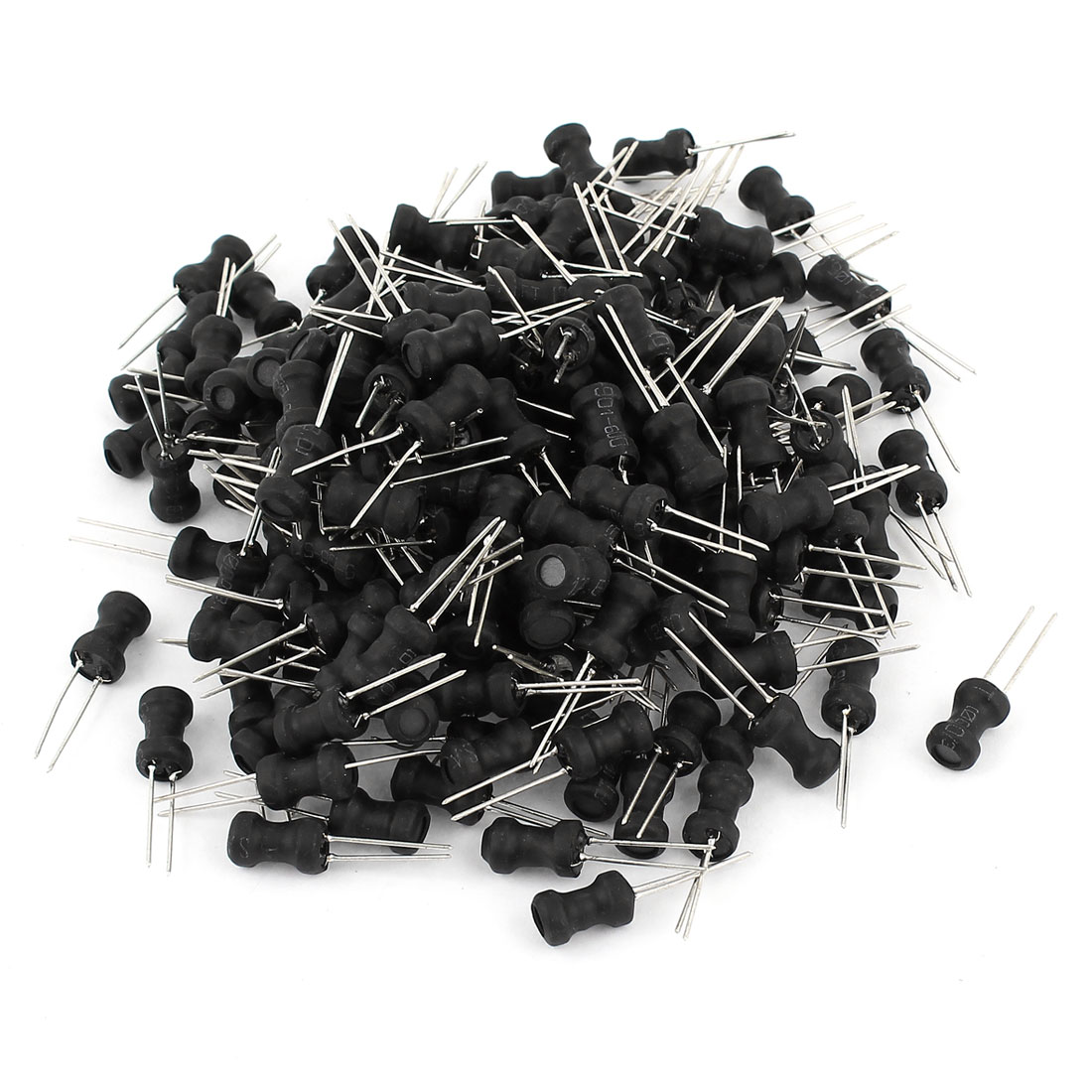 200pcs PCB Board Radial Lead Inductor 56uH 700mA 6x10mm 10% Tolerance