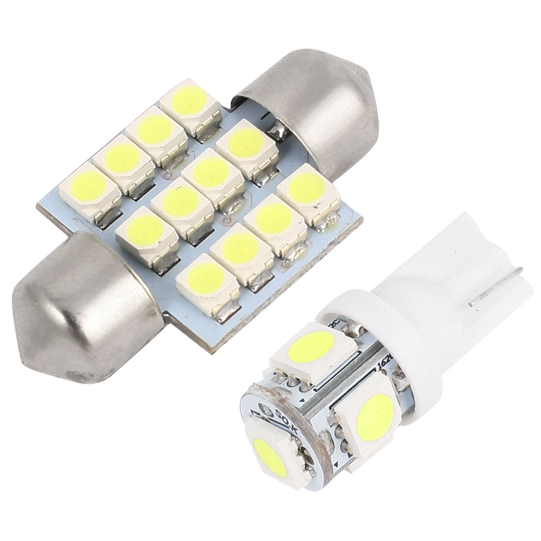 12x Interior Package Kit White Map Dome LED Light Lamp Festoon 31mm for 2003-2008 Infiniti G35