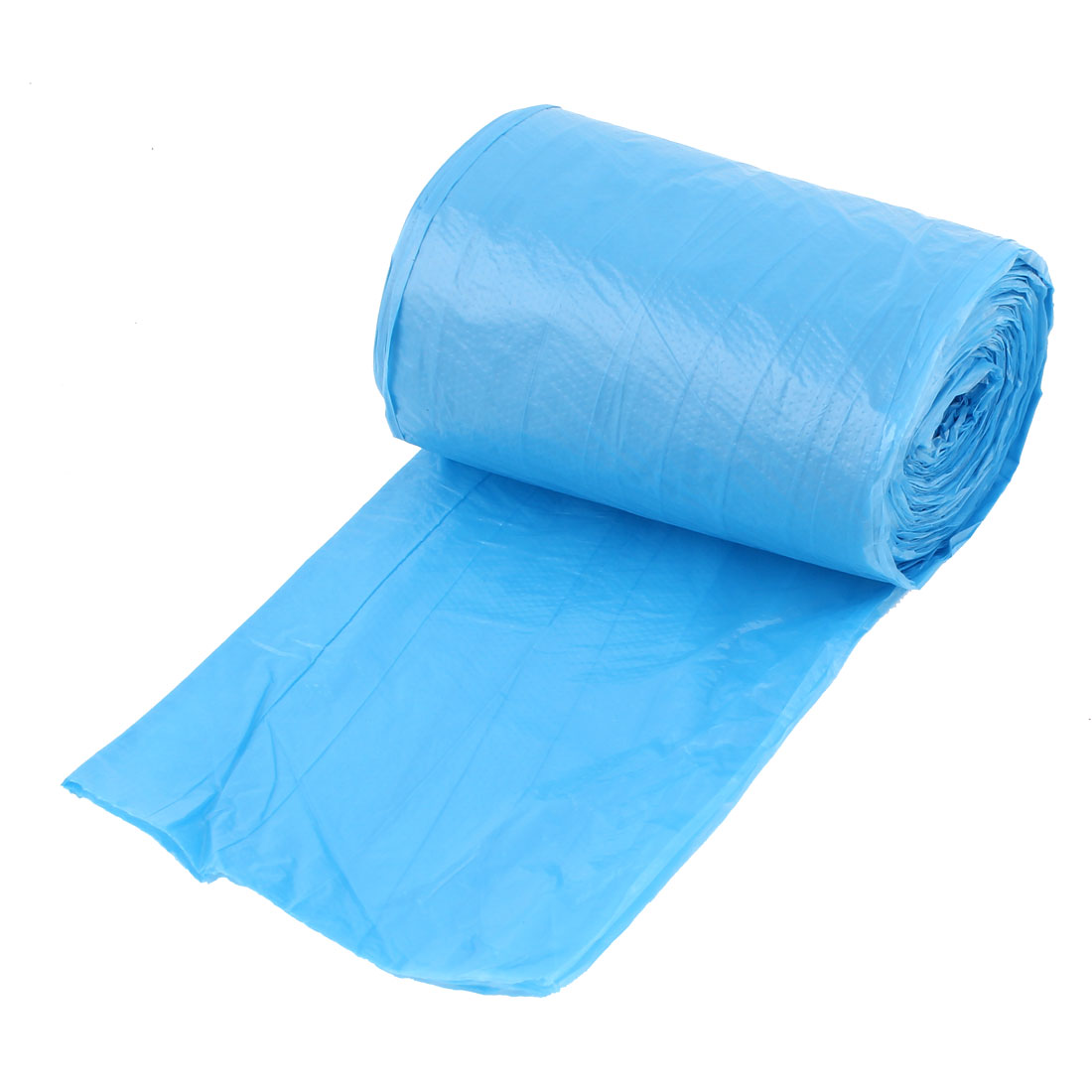 Kitchen Disposable Garbage Trash Waste Bag Blue Roll 50cm x 60cm