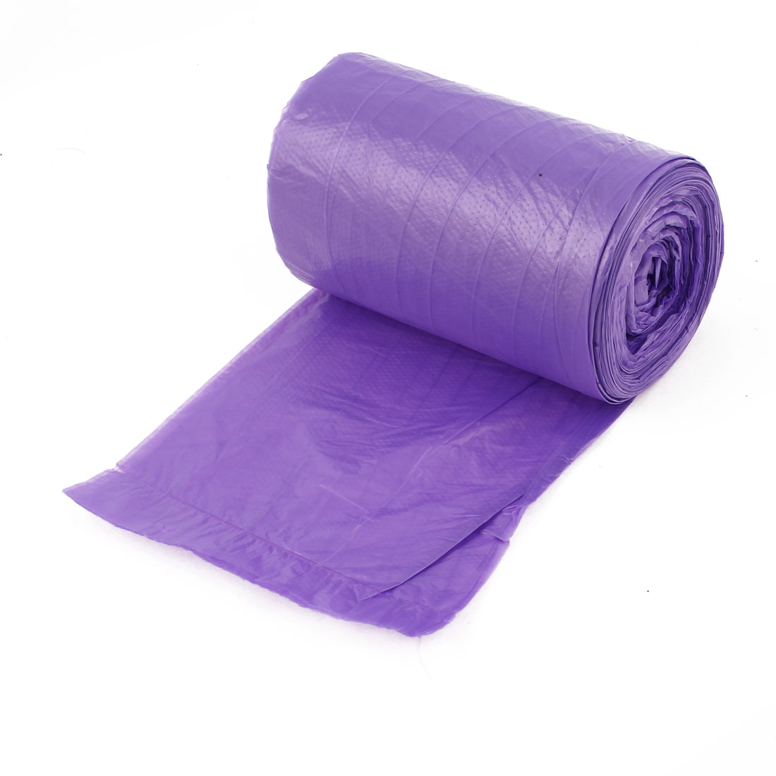 Kitchen Disposable Garbage Trash Waste Bag Purple Roll 50cm x 46.5cm