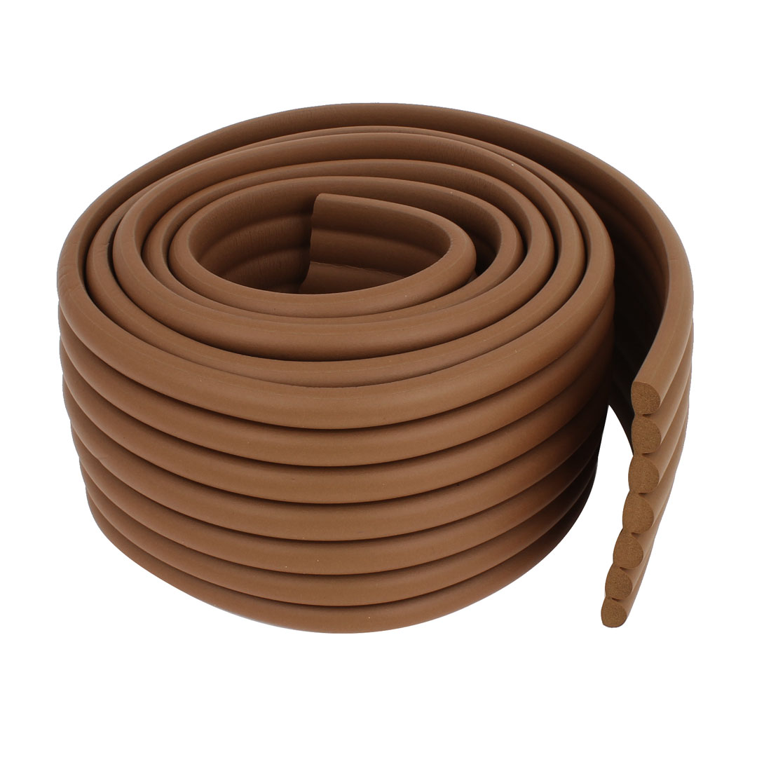 Wooden Color Soft Flexible Foam Table Edge Guard Strip 2M Long 8cm Width