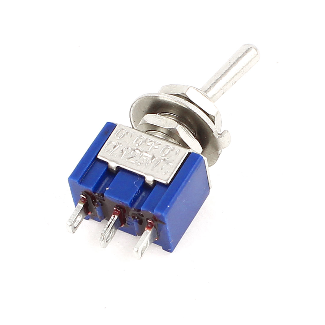 AC125V 6A 3 Pin 2-Position SPDT On/On Self Locking Miniature Toggle Switch