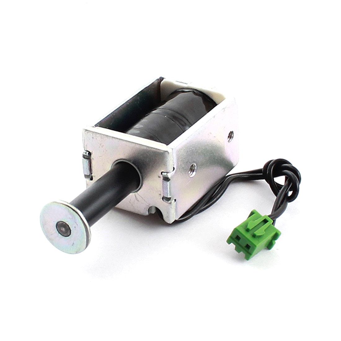 DC 15V 0.68A 220g/3mm Push Pull Actuator Magnet Solenoid Electromagnet