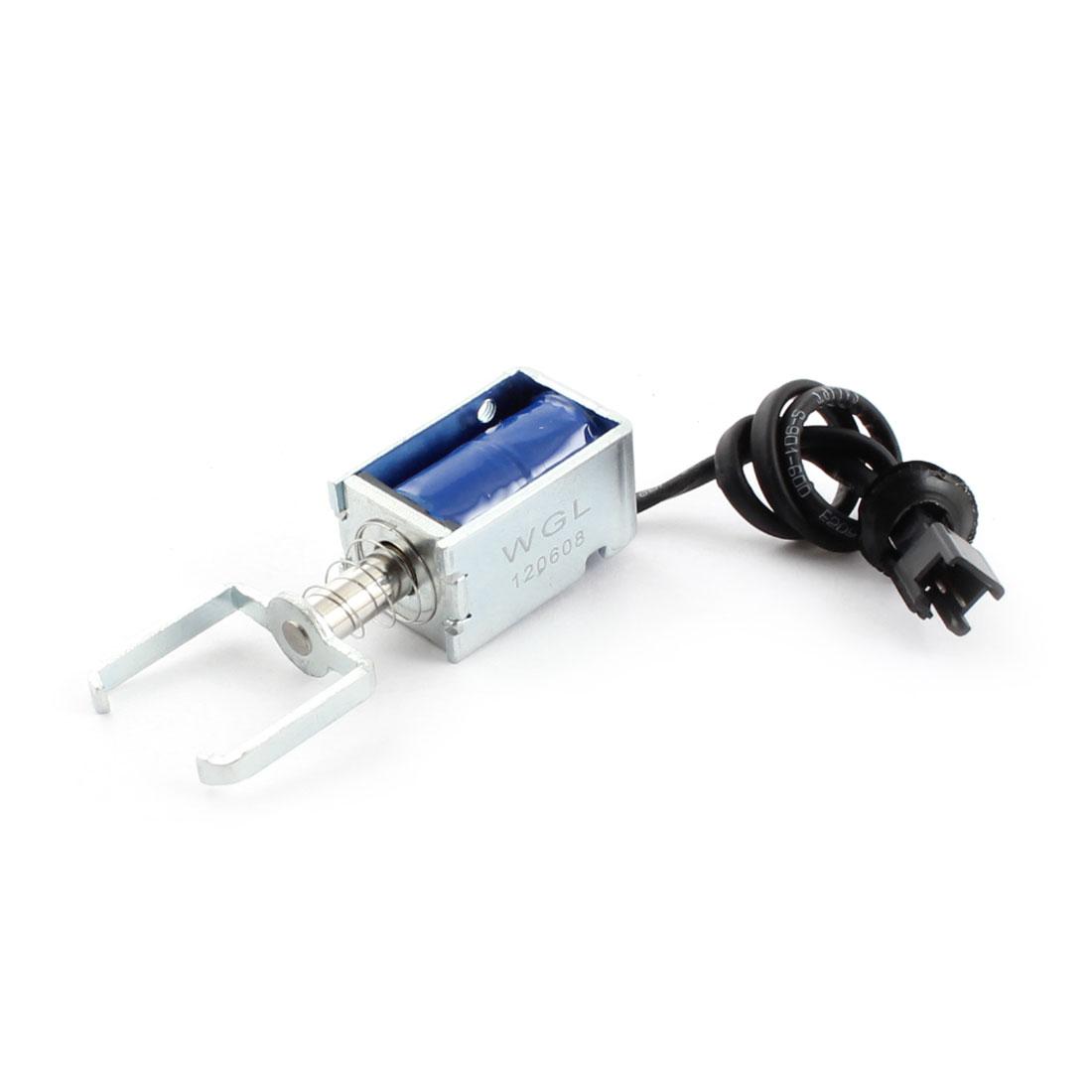 DC 12V 350g/3mm Open Frame Actuator Linear Pull Solenoid Electromagnet