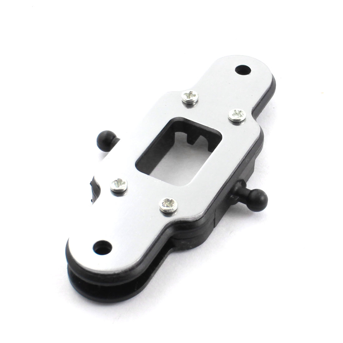 Spare Part Black Plastic Lower Rotor Vane Clamp Clip 6mm for FQ777-603 RC Helicopter