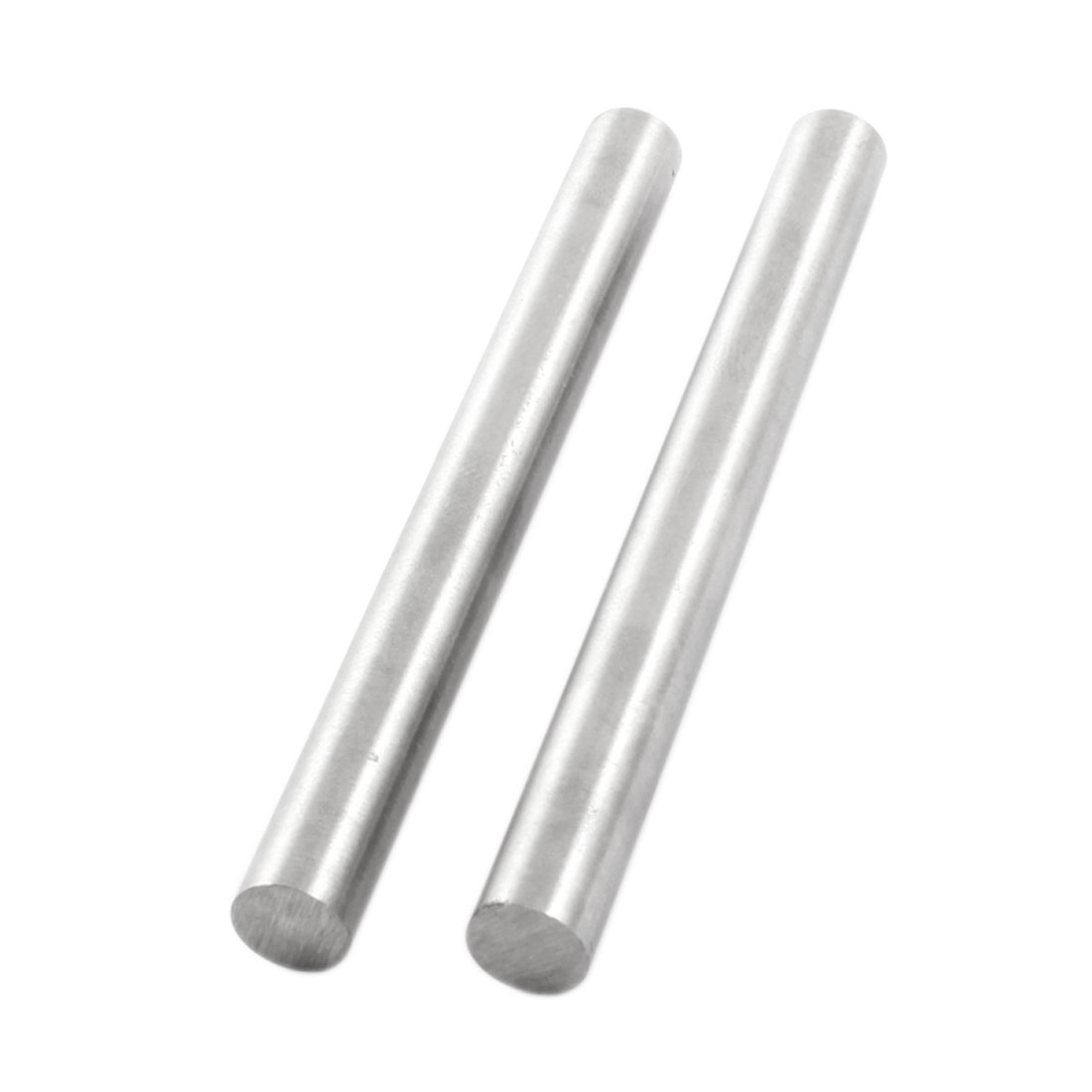 2 Pcs 9.5mm x 100mm Silver Tone HHS Straight Machine Turning Tool Round Lathe Bar Stick
