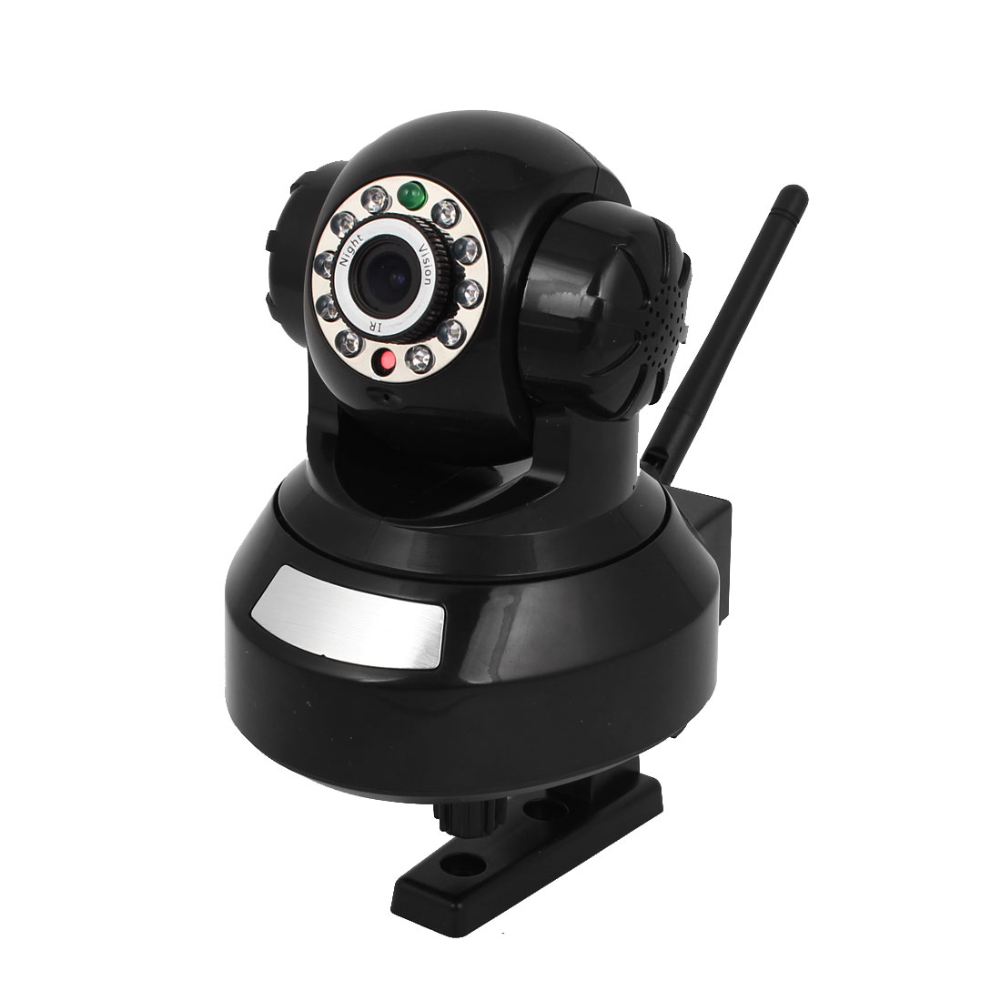 DC 5V 11 LEDs IR Night Vision Wireless Webcam IP Camera Black