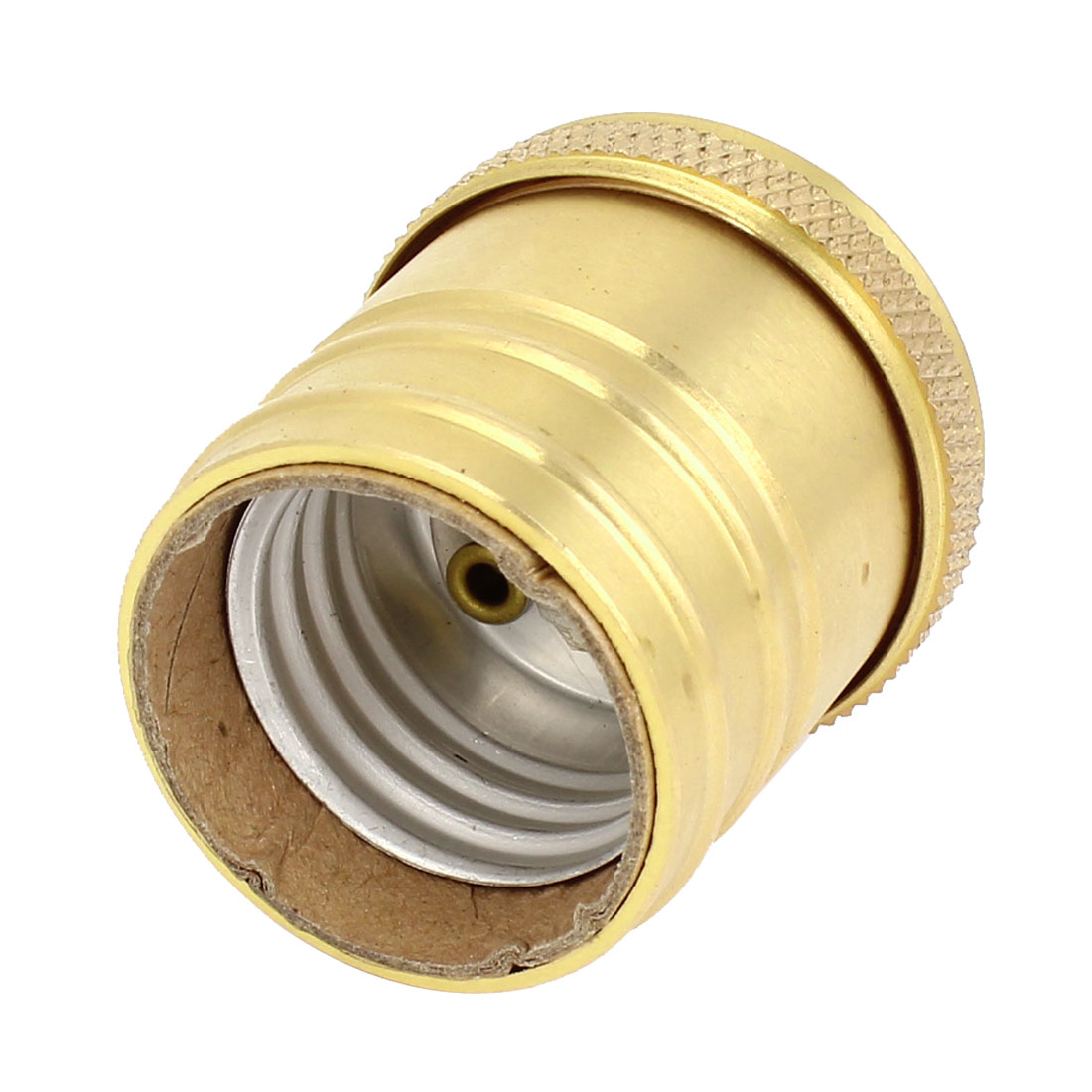 Gold Tone Brass E26 Bar DIY Wall Lamp Bulb Base Holder AC 250V 660W