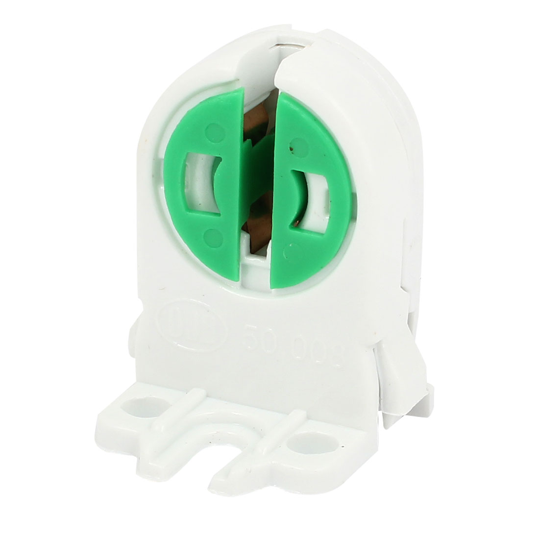 AC 100-250V White Green T5 Fluorescent LED Tube Lamp Holder