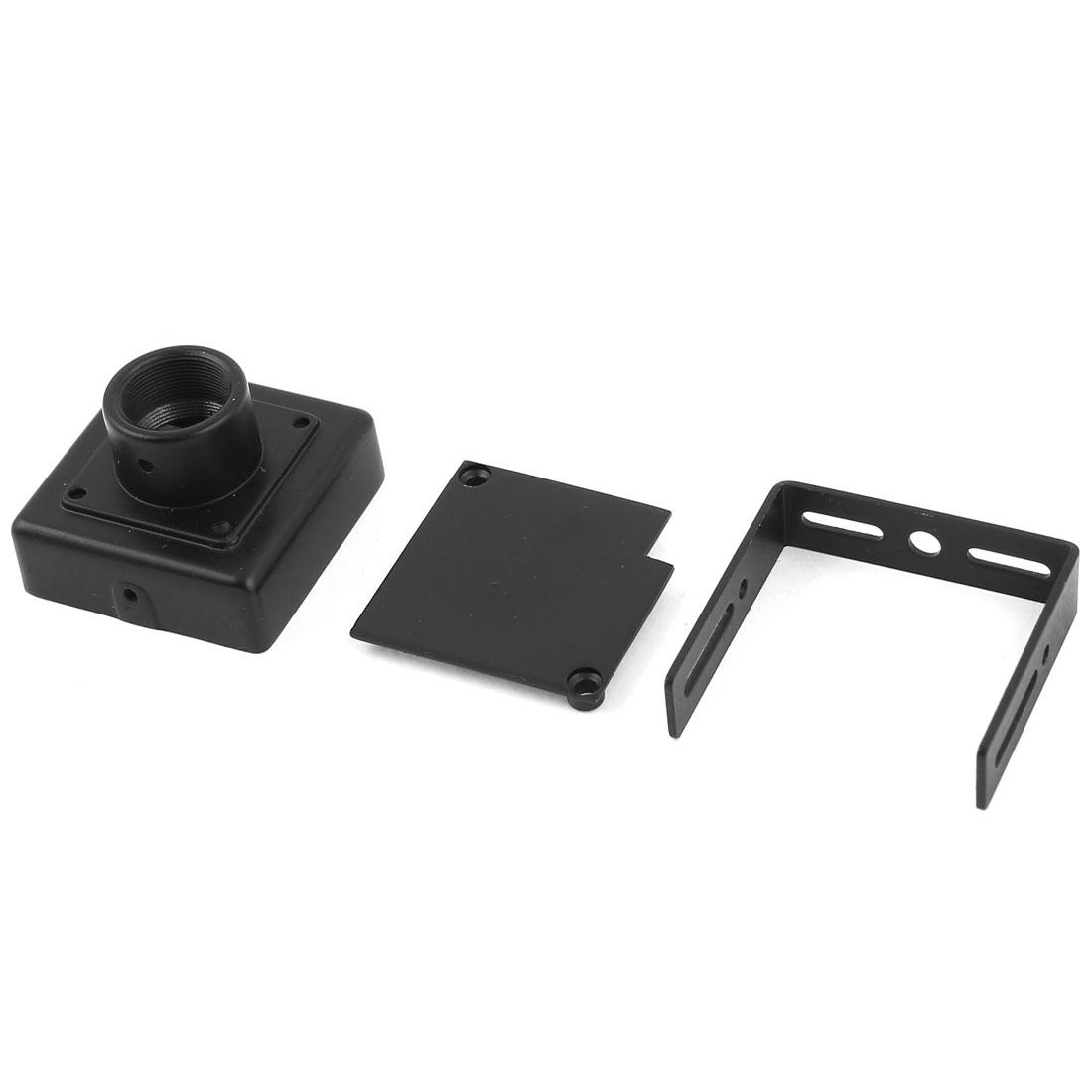 HD33 Black Metal CCTV Camera Lens Fixed Mount Box Housing M12