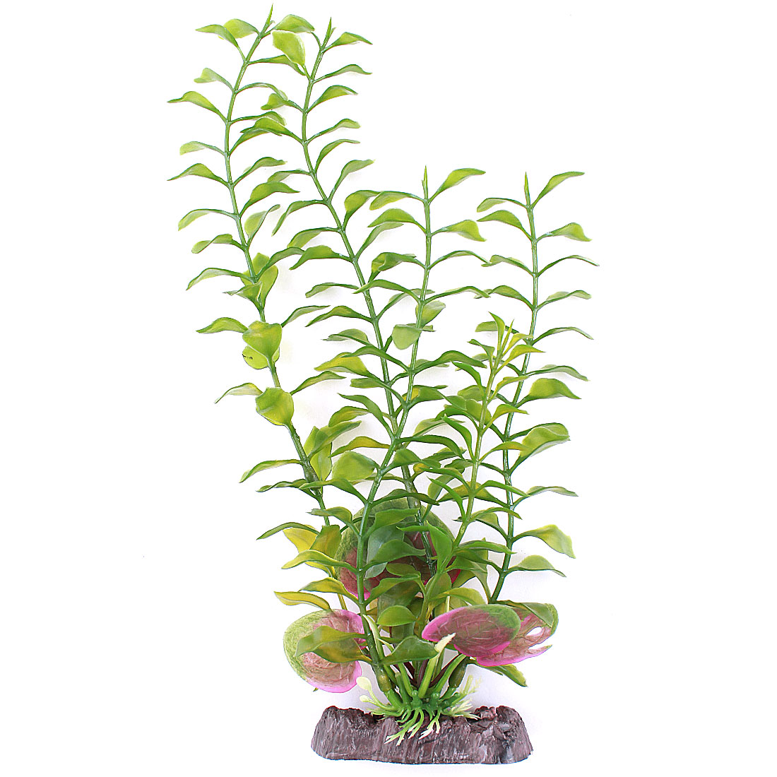 Fish Tank Aquarium Decor 30cm High Green Plastic Artificial Underwater Grass Plant