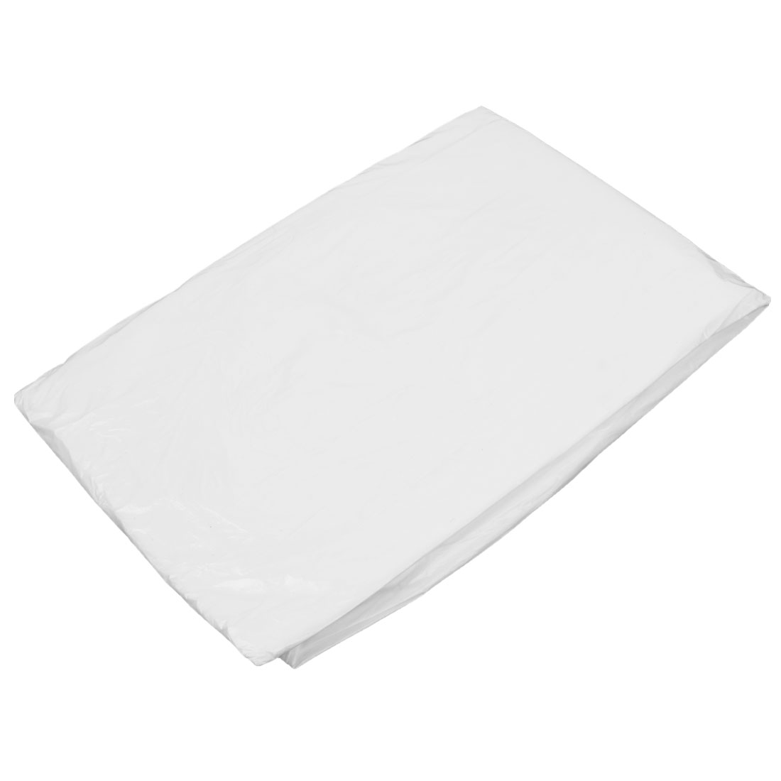 10 Pcs 5.2Ft x 5.2Ft Disposable Film Table Cloth Cover Decor Clear White