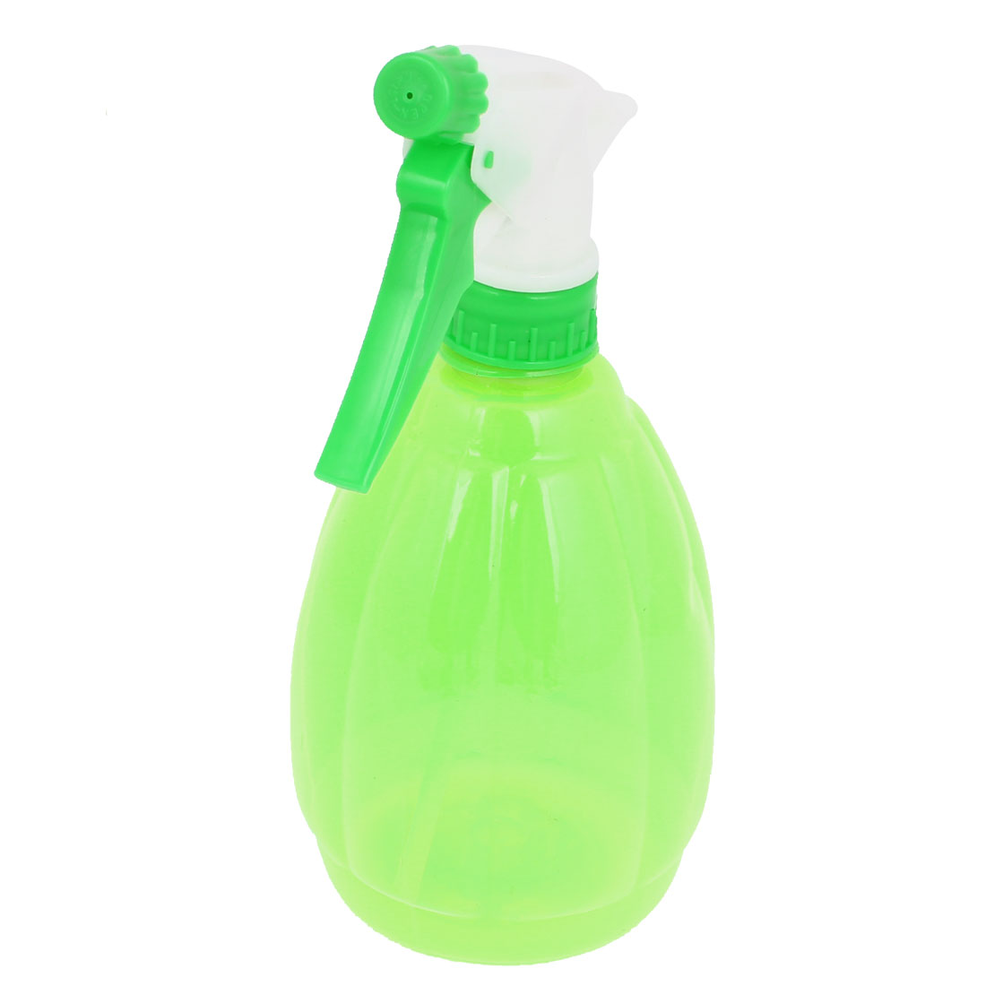 Plastic Trigger Hairdressing Plant Watering Spray Bottle Clear Green