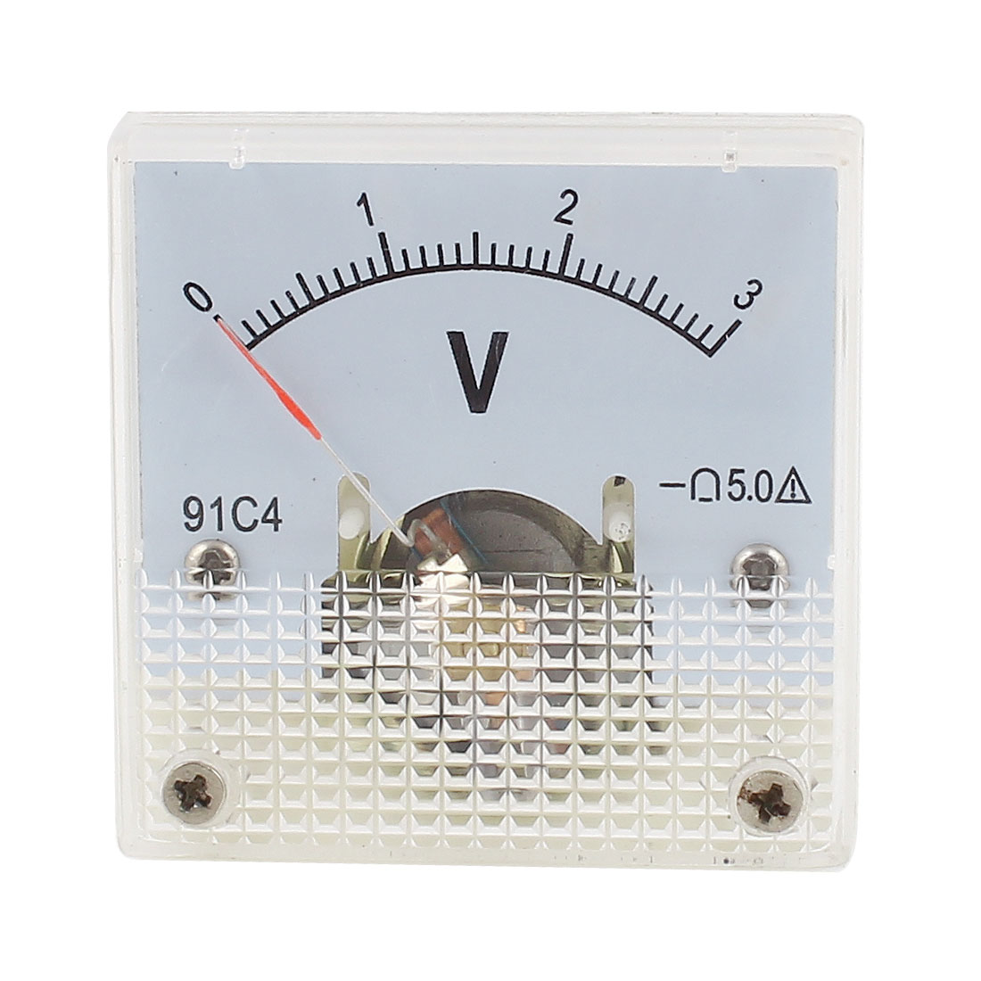 Class 5.0 Accuracy Analog DC 0V-3V Scale Electric Voltage Meter Panel