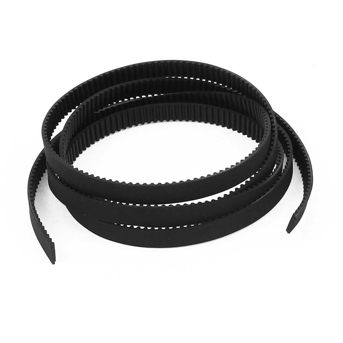 3D Printer 2GT 6mm Width 2mm Pitch Rubber Open Loop Precision Timing Belt 1M